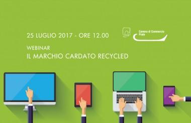 25 luglio 2017 – webinar Il marchio Cardato Recycled